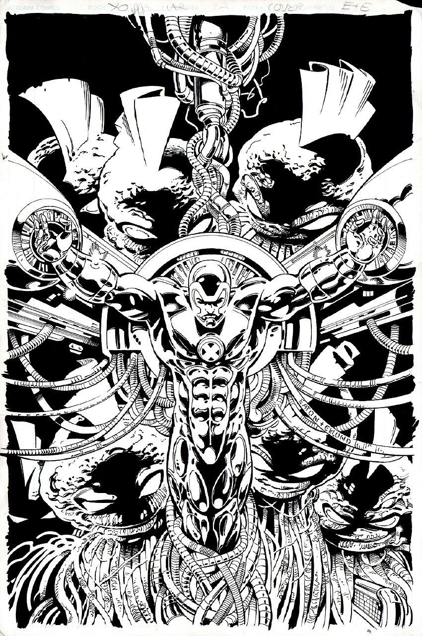 X-O Manowar #12 Cover (1997)