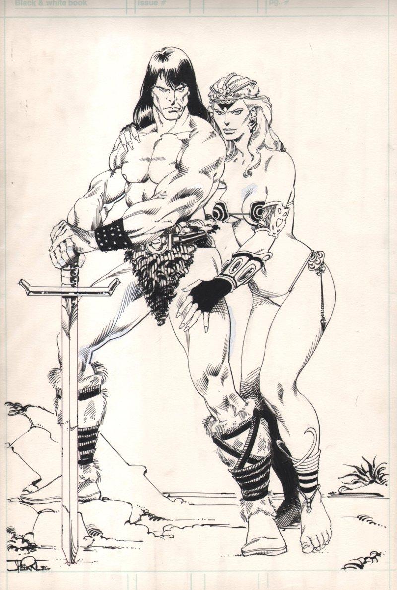 Conan Fan Club Newsletter Cover (1986)