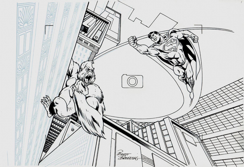 Superman: Toppling Titano Title SPLASH (2013)