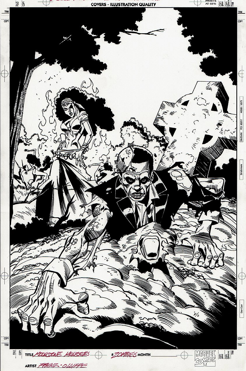 Moonstone Monsters: Zombies #1 Cover (2005)