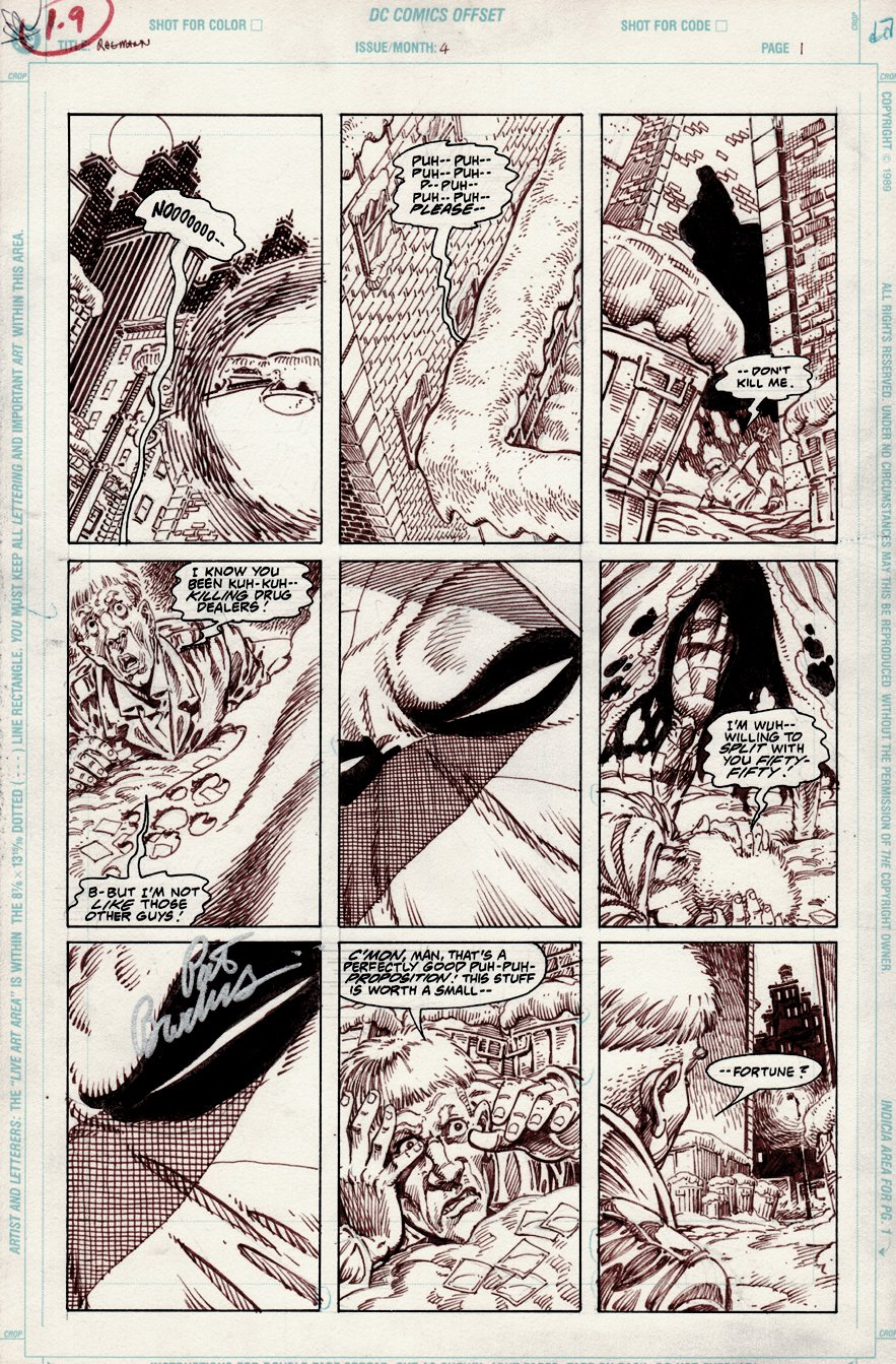 Ragman #4 p 1 (1991)