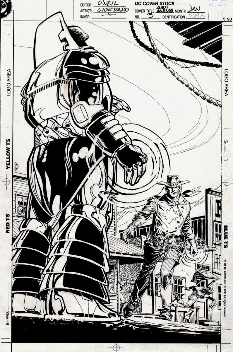 Armageddon: The Alien Agenda #3 Cover (1991)