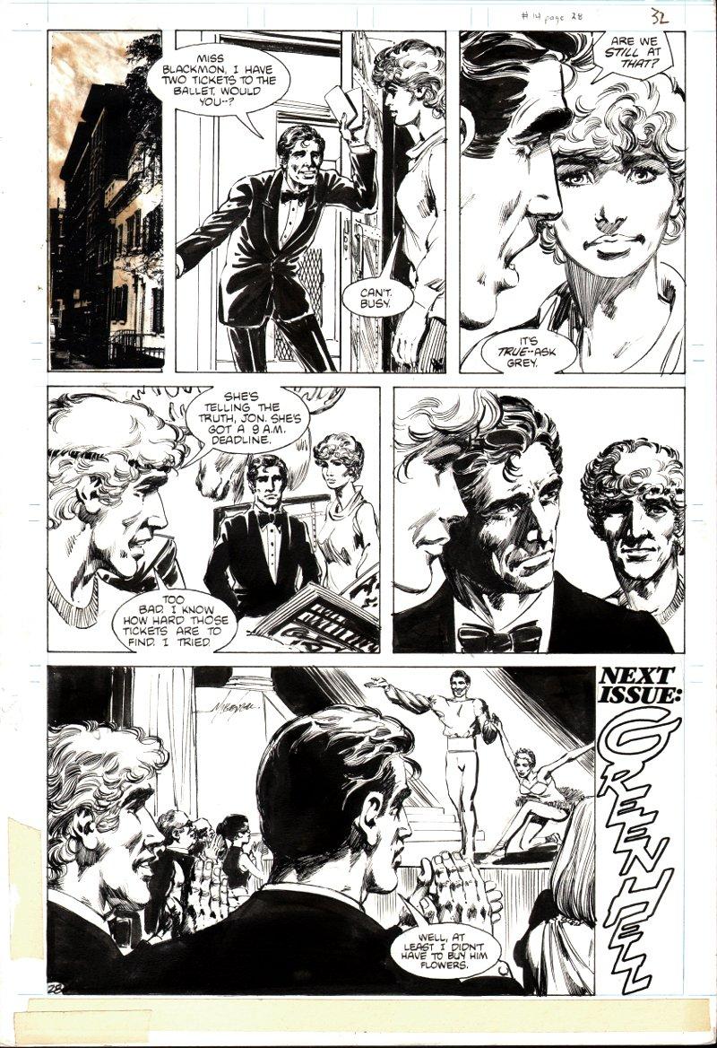 Jon Sable Freelance #14 p 28 (1984)