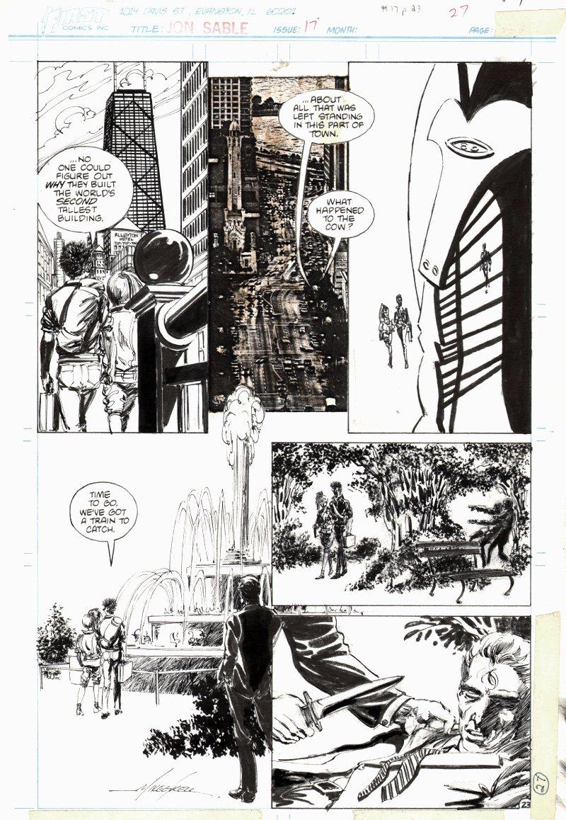 Jon Sable Freelance #17 p 23 (1984)