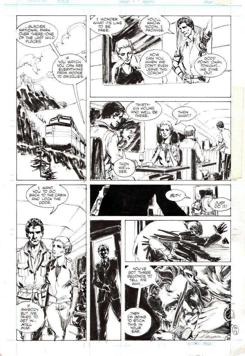 Jon Sable Freelance #17 p 25 (1984)