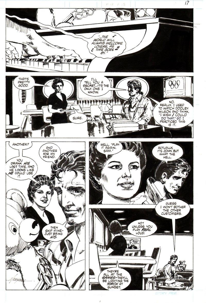 Jon Sable Freelance #18 p 15 (1984)