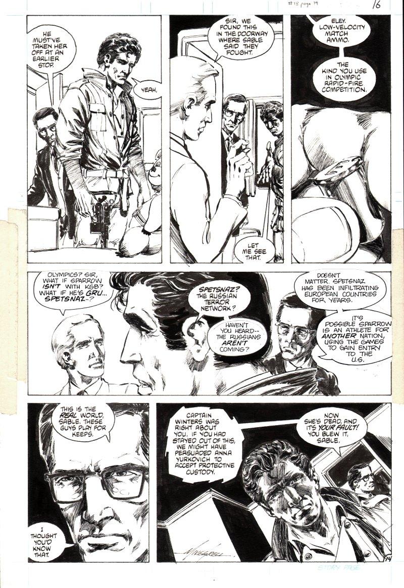 Jon Sable Freelance #18 p 14 (1984)