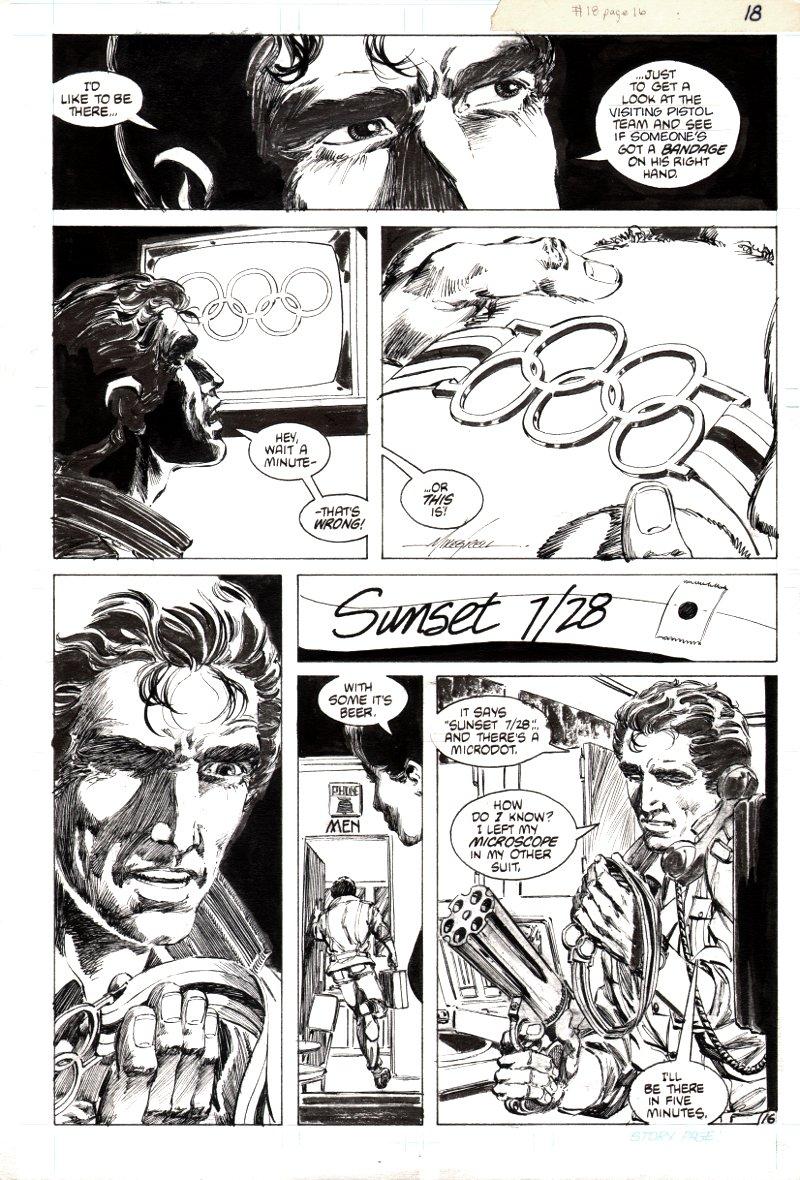 Jon Sable Freelance #18 p 16 (1984)