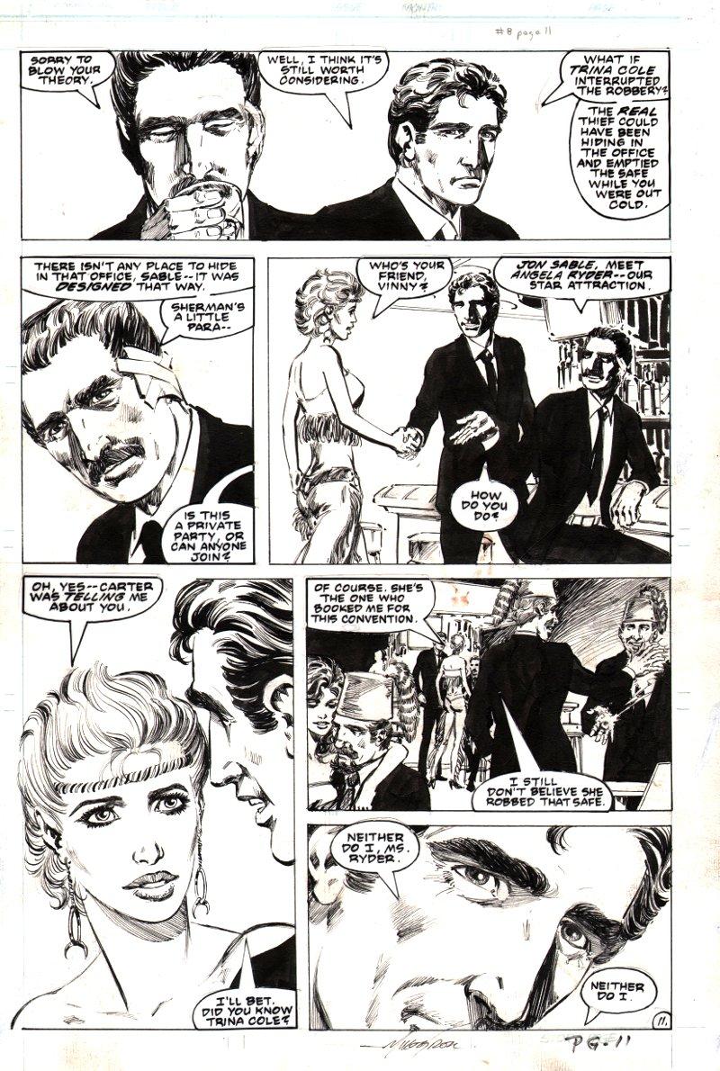 Jon Sable Freelance #8 p 11 (1984)