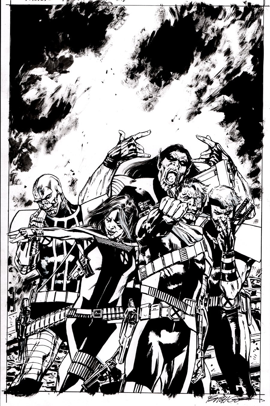 X-Force #3 Cover