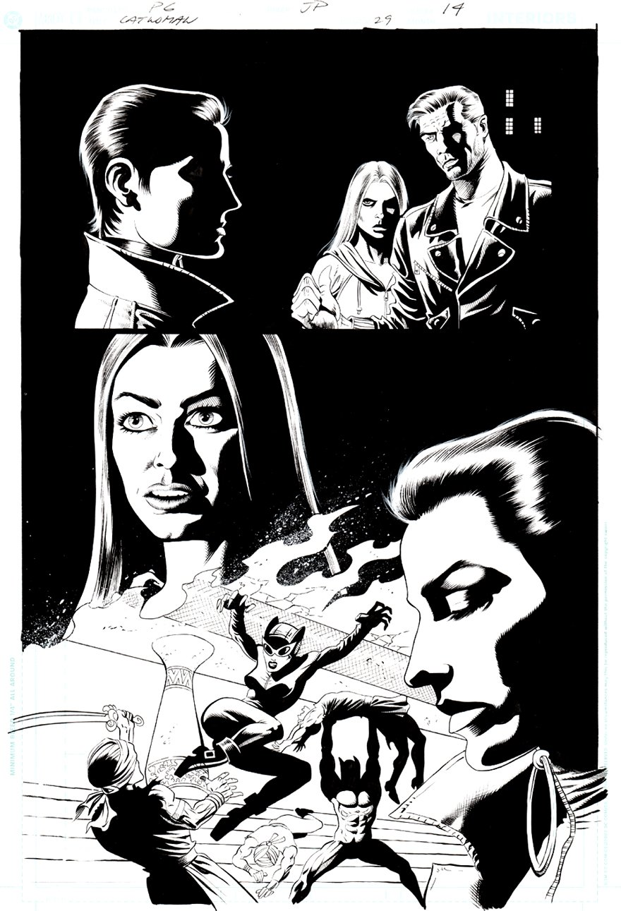 Catwoman #29 p 14 (CATWOMAN ACTION!) 2004