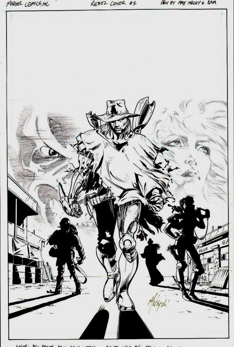 Heroes Reborn: Rebel #1 Cover (1999)