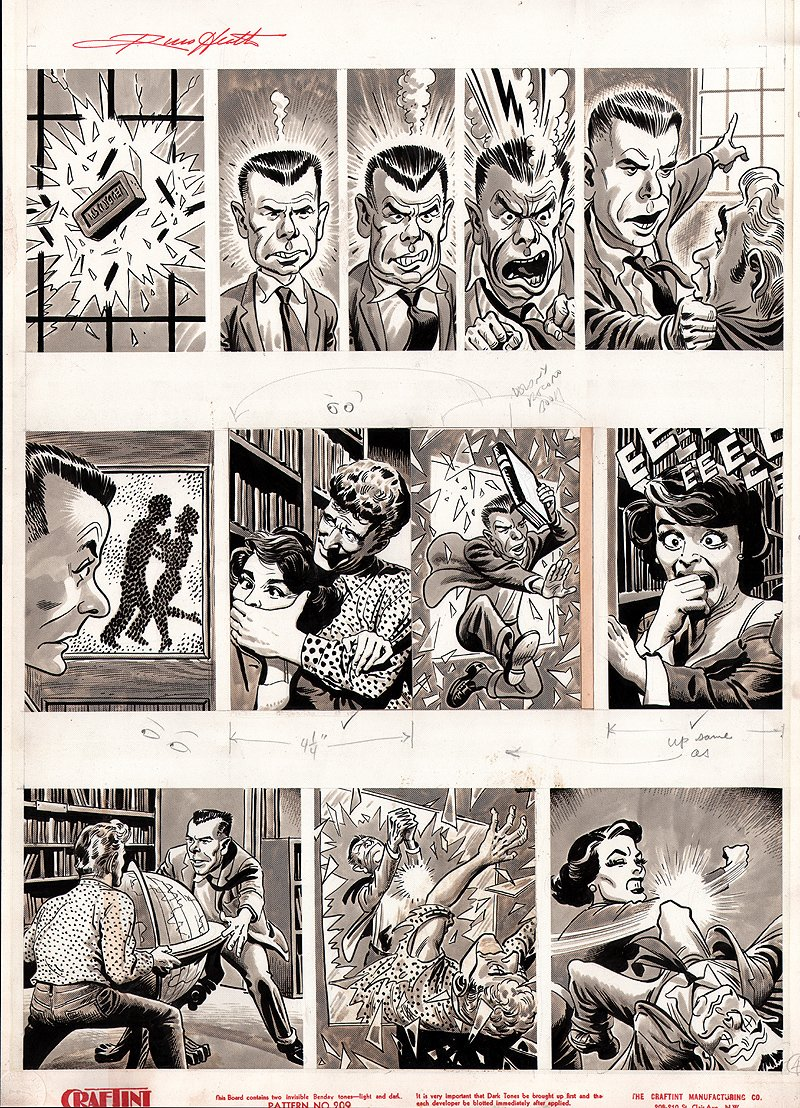 Snafu #1 p 4 (Large Art) 1955