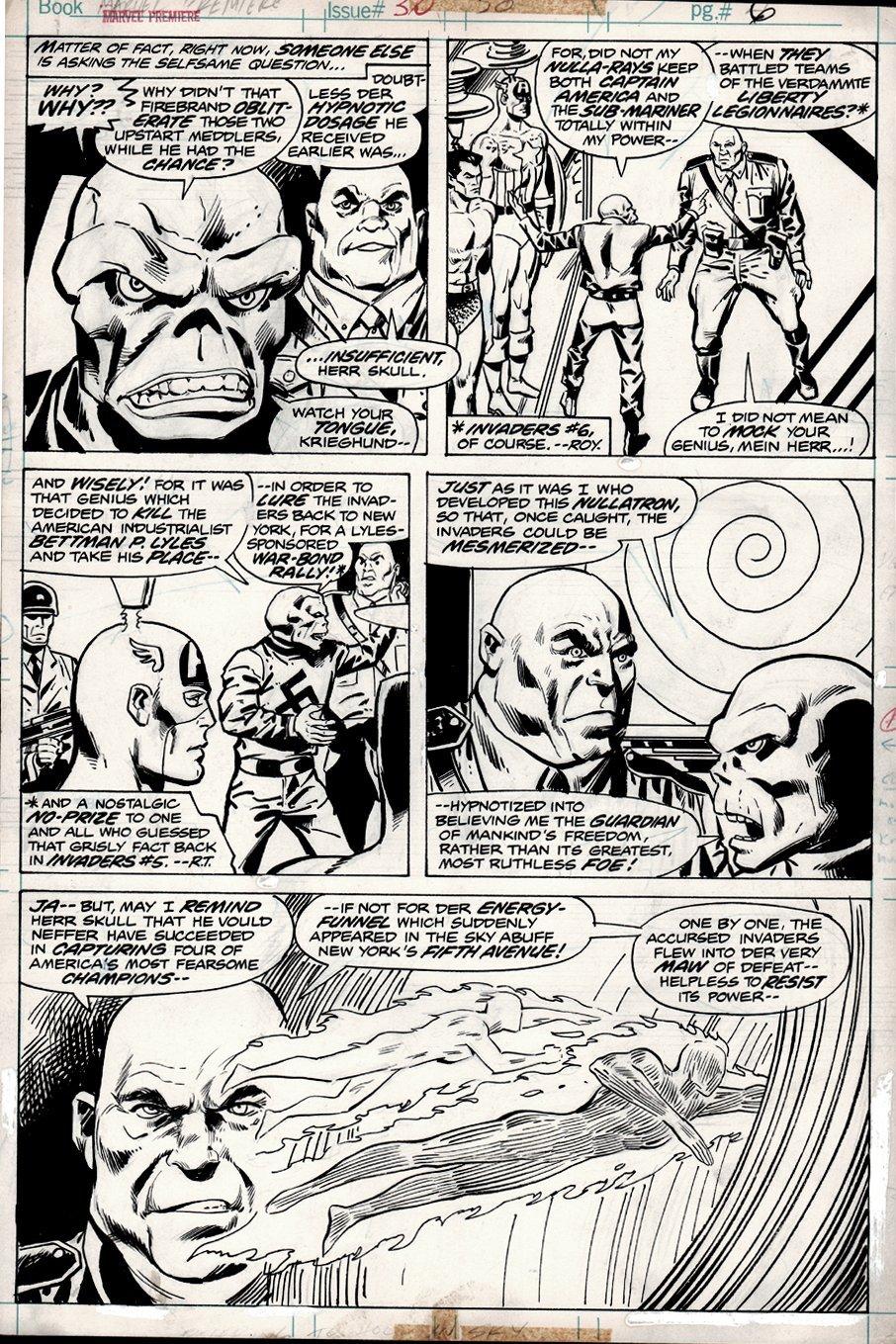 Marvel Premiere #30 p 6 (1976)