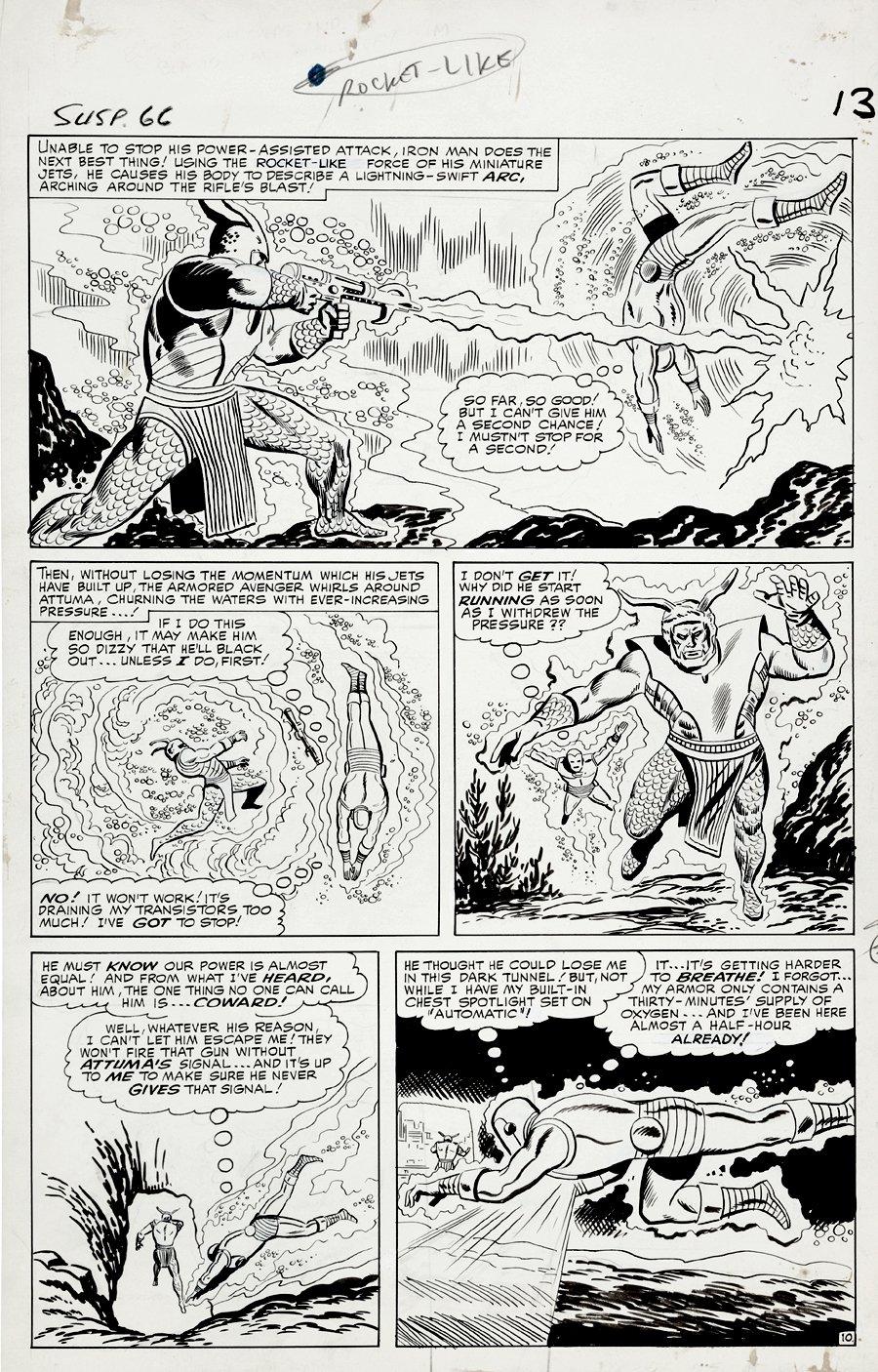 Tales of Suspense #66 p 10 (Large Art) 1964