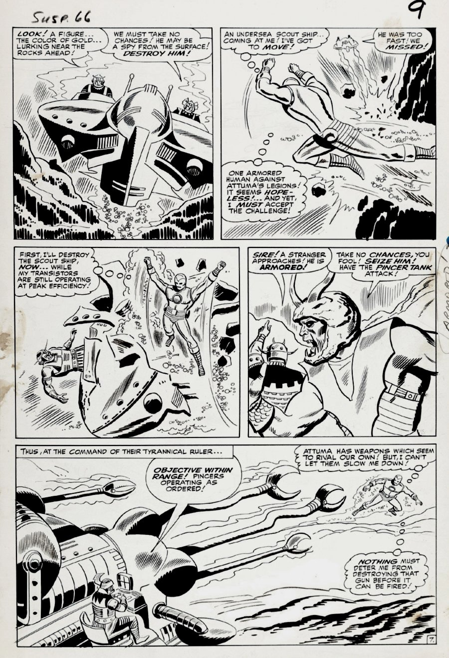 Tales of Suspense #66 p 7 (Large Art) 1964