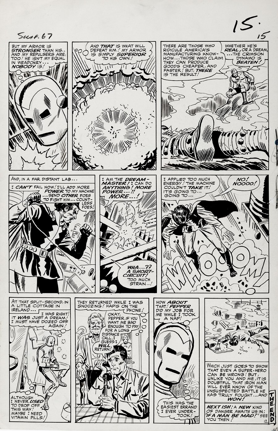 Tales of Suspense #67 p 12 (Large Art) 1964