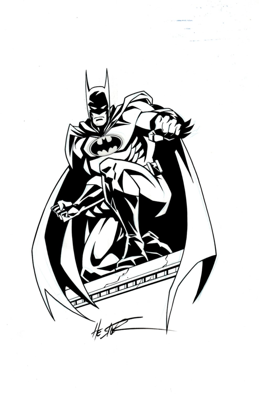 Legends Batman PUBLISHED Style Guide Pinup
