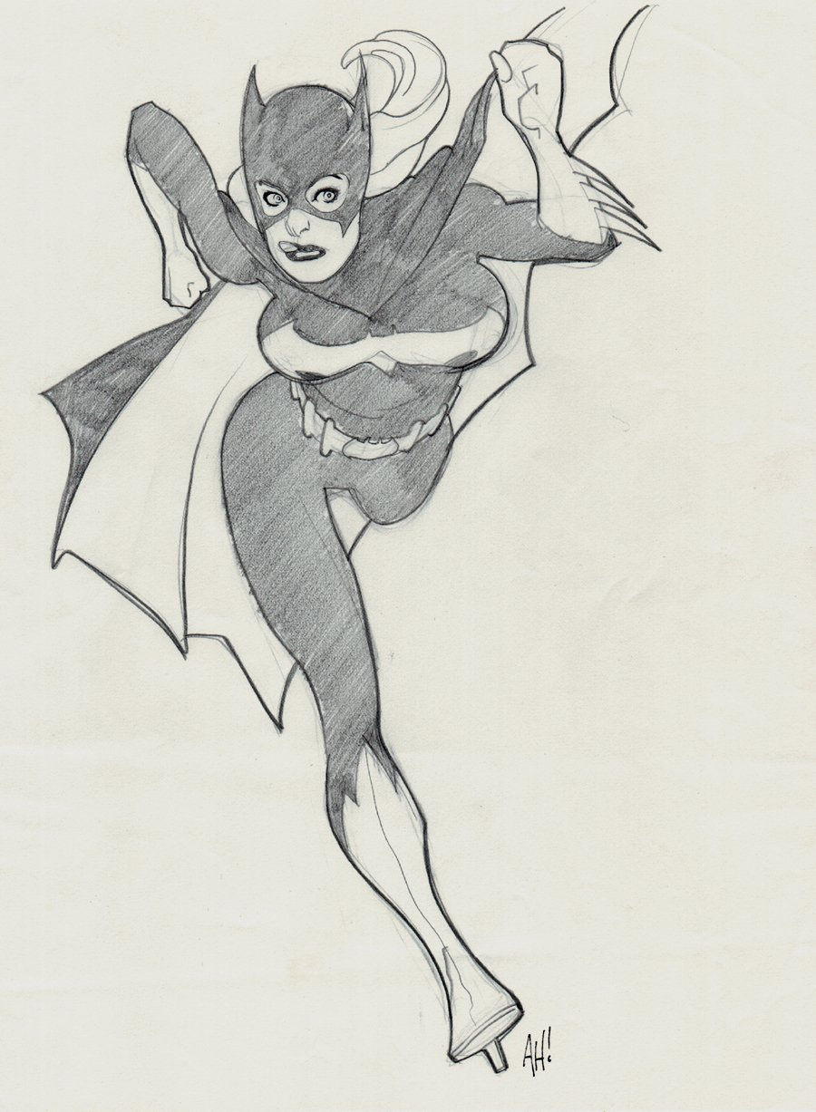 Sexy Bat-Girl Pinup (2002)