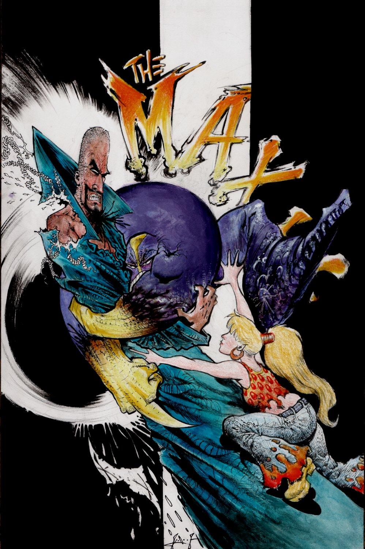 The Maxx: Maxximized #23 Mixed Media Cover