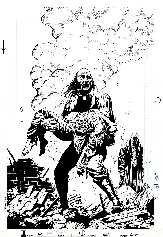 Dark Dominion #8 Cover (1994)