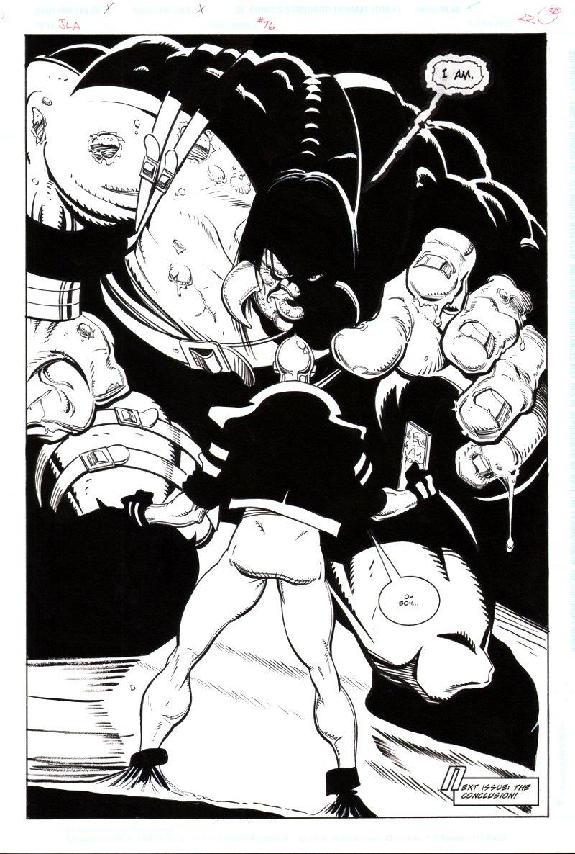 Justice League of America #76 p 2 Splash (1993)