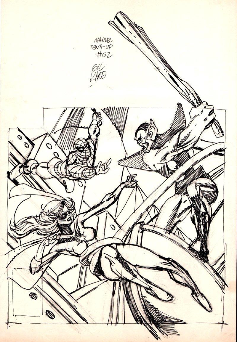 Marvel Team-Up #62 Cover Mockup (1977)