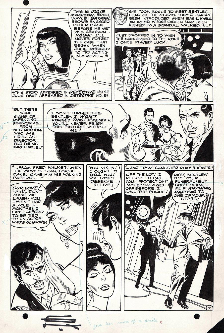 Batman #208 p 2 (1968)