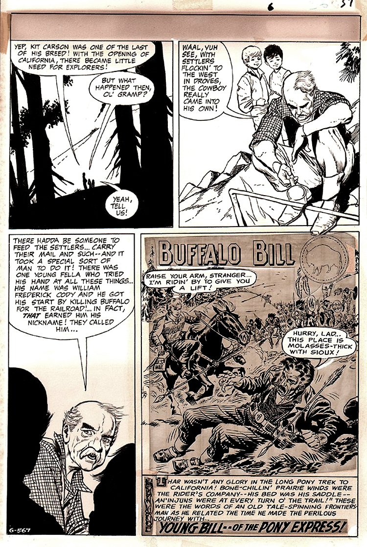 DC Special #6 p 39 (The Story Of Buffalo Bill!) 1969