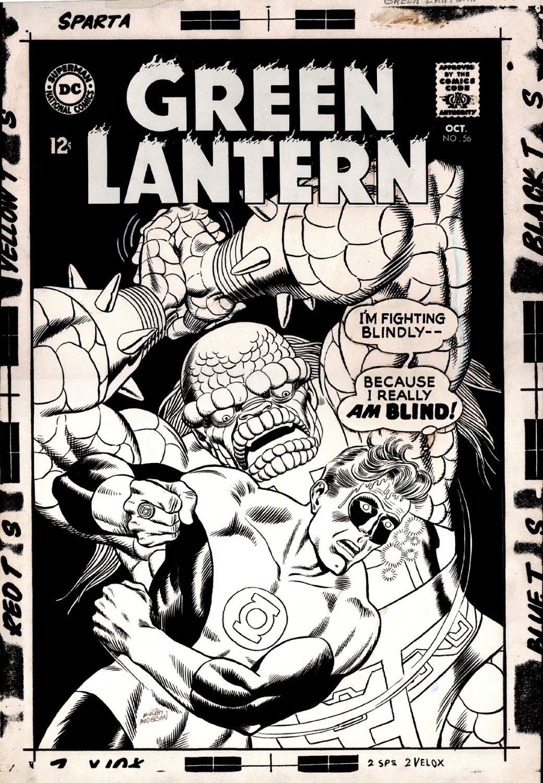 Green Lantern #56 Cover (Large Art) 1967