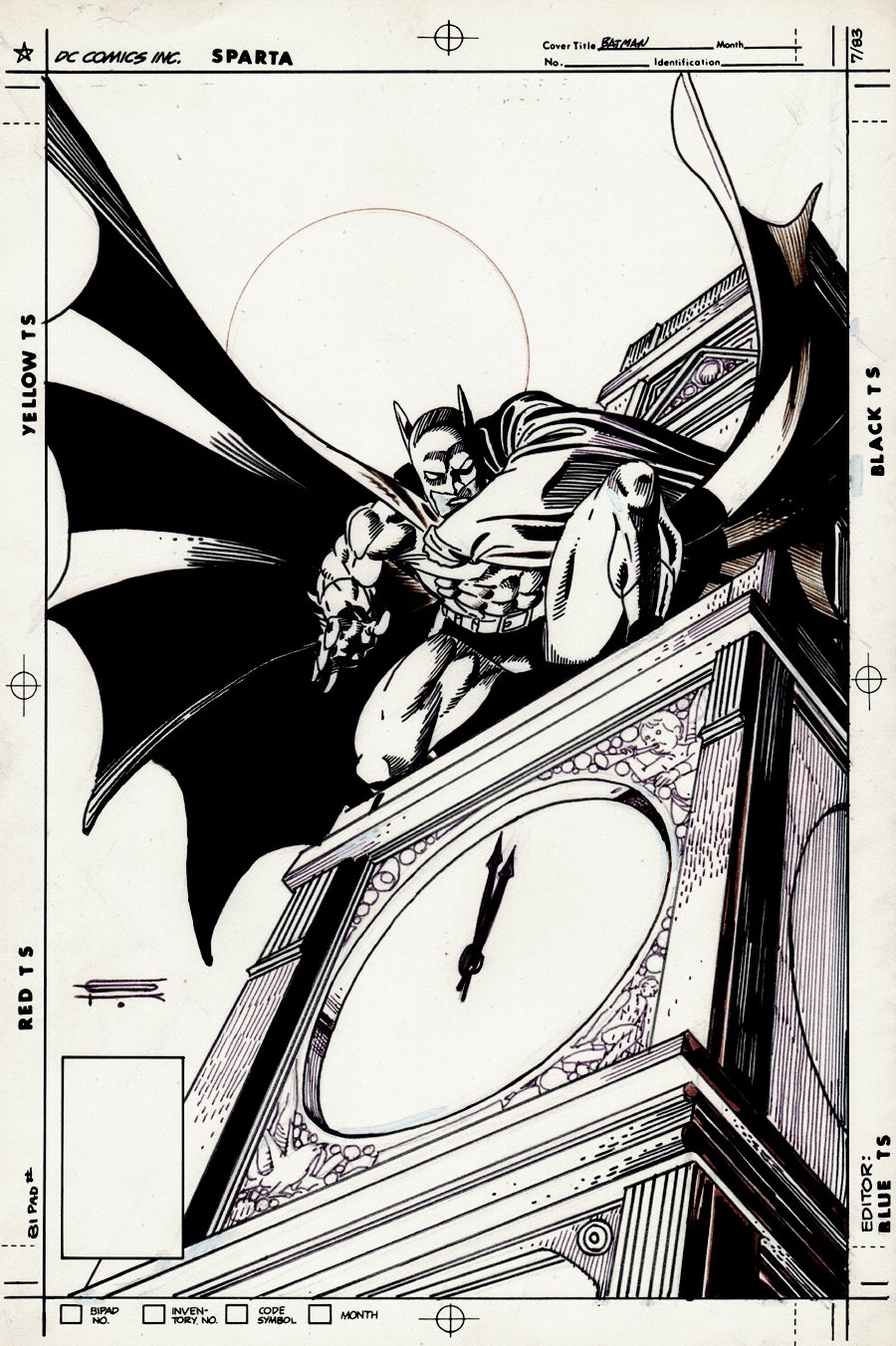Batman Published Cover Or Pinup