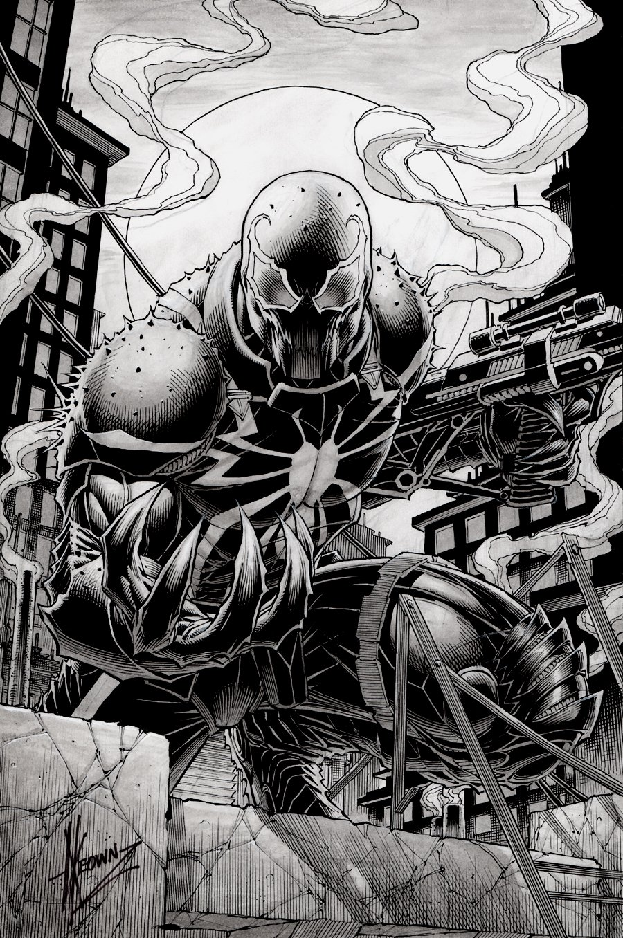 Agent Venom Cover