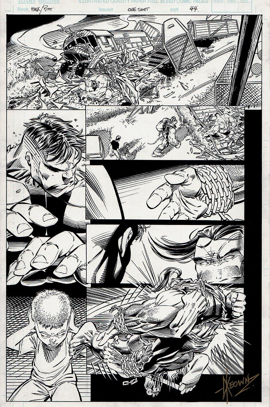 Hulk / Pitt #1 p 44 (1996)