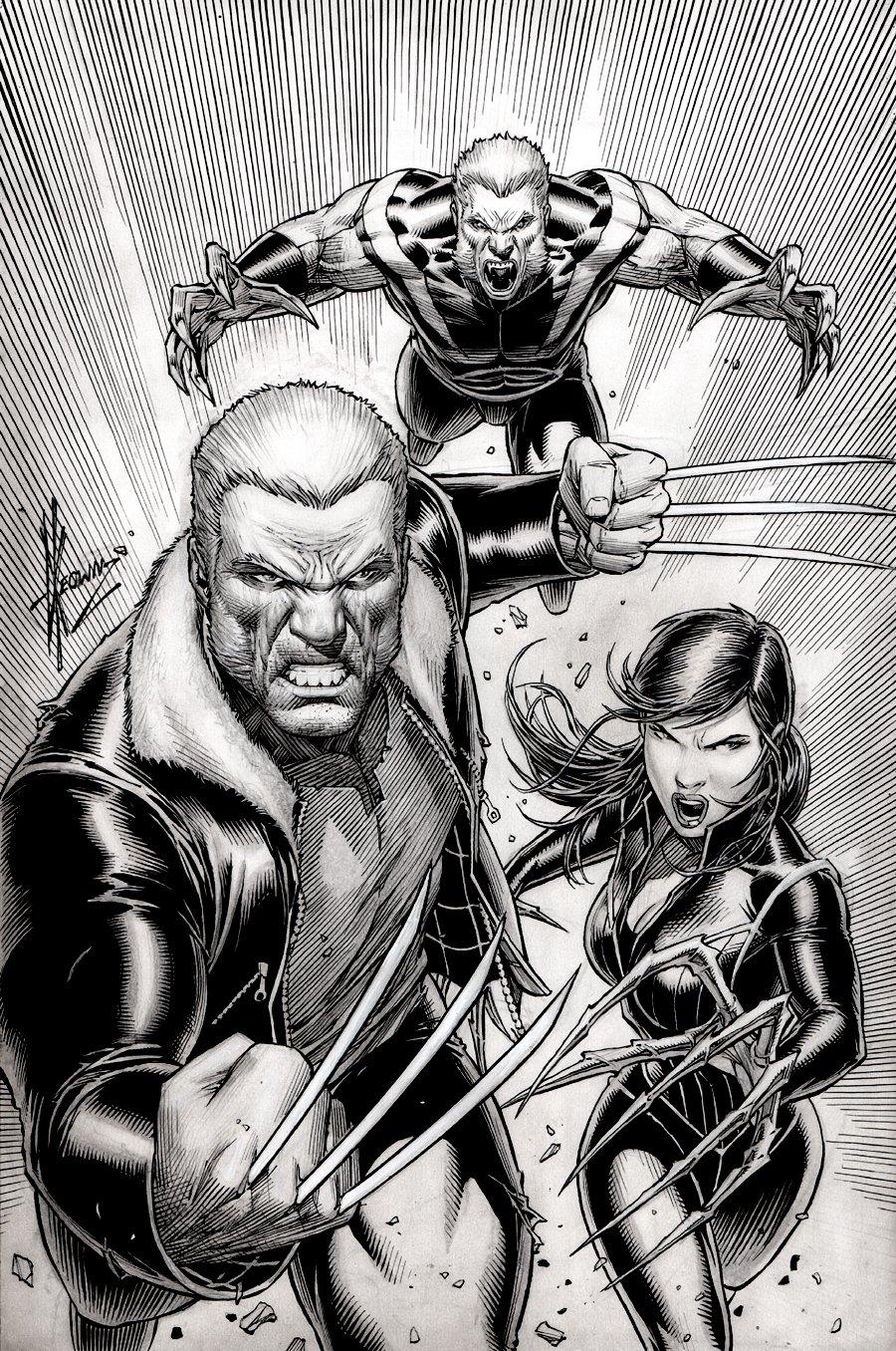 Weapon X #1 Cover (LOGAN, SABRETOOTH, LADY DEATHSTRIKE!) 2017