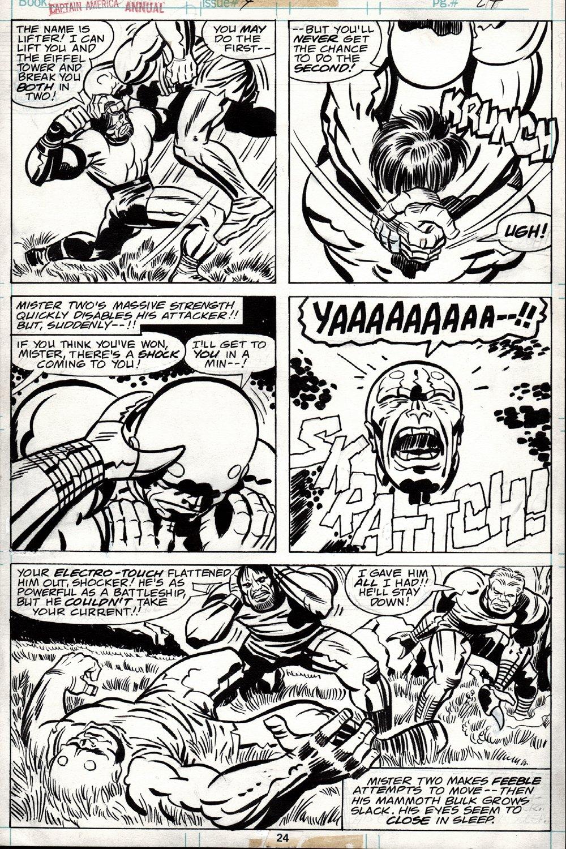 Captain America Annual #4 p 24 (1977)