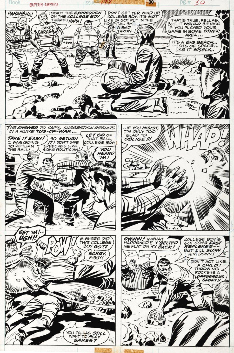 Captain America #198 p 30 (1976)