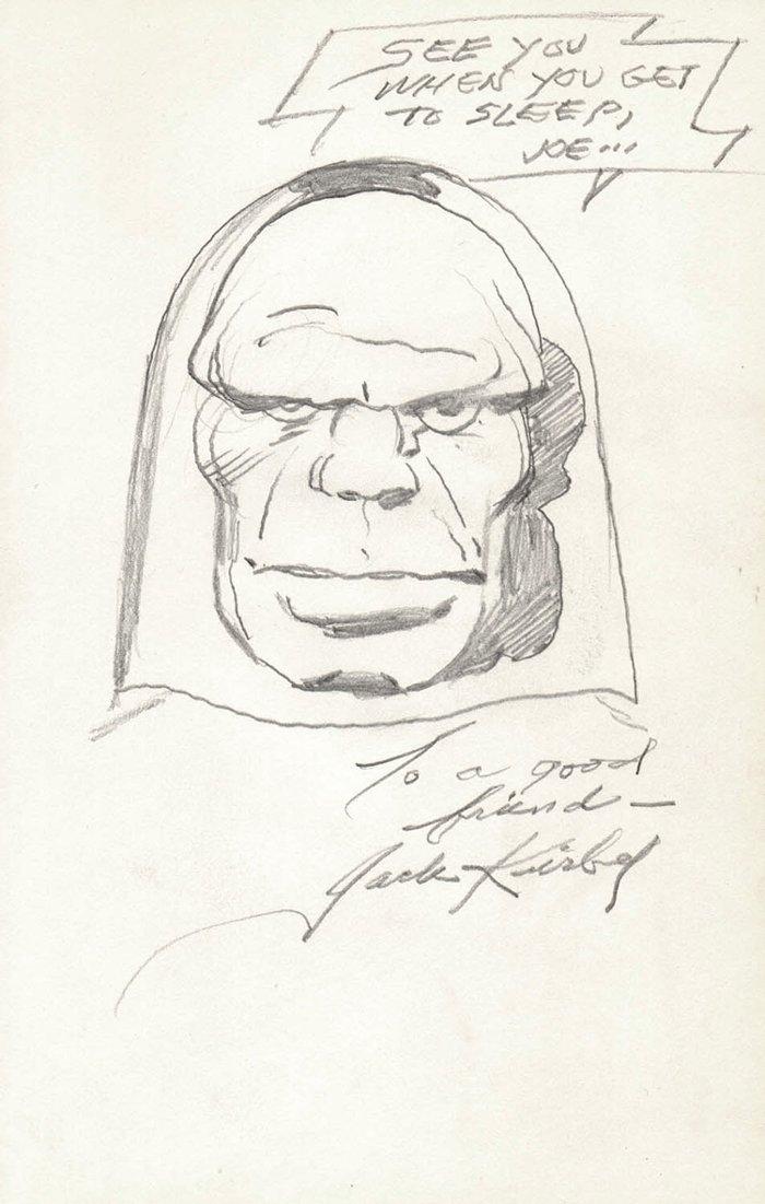 'Darkseid' Pinup (1970s)