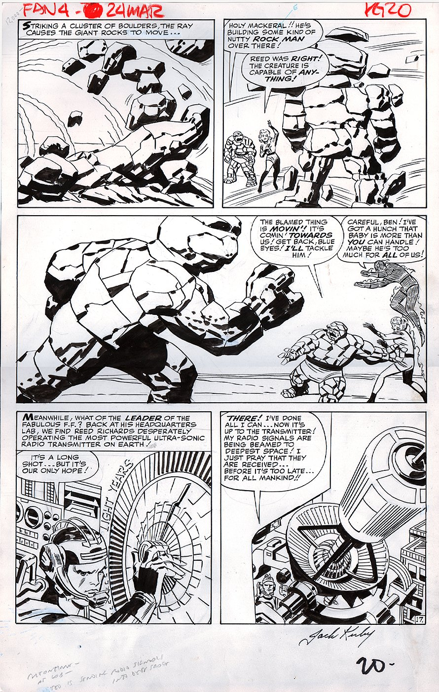 Fantastic Four #24 p 17 (LARGE ART) 1963