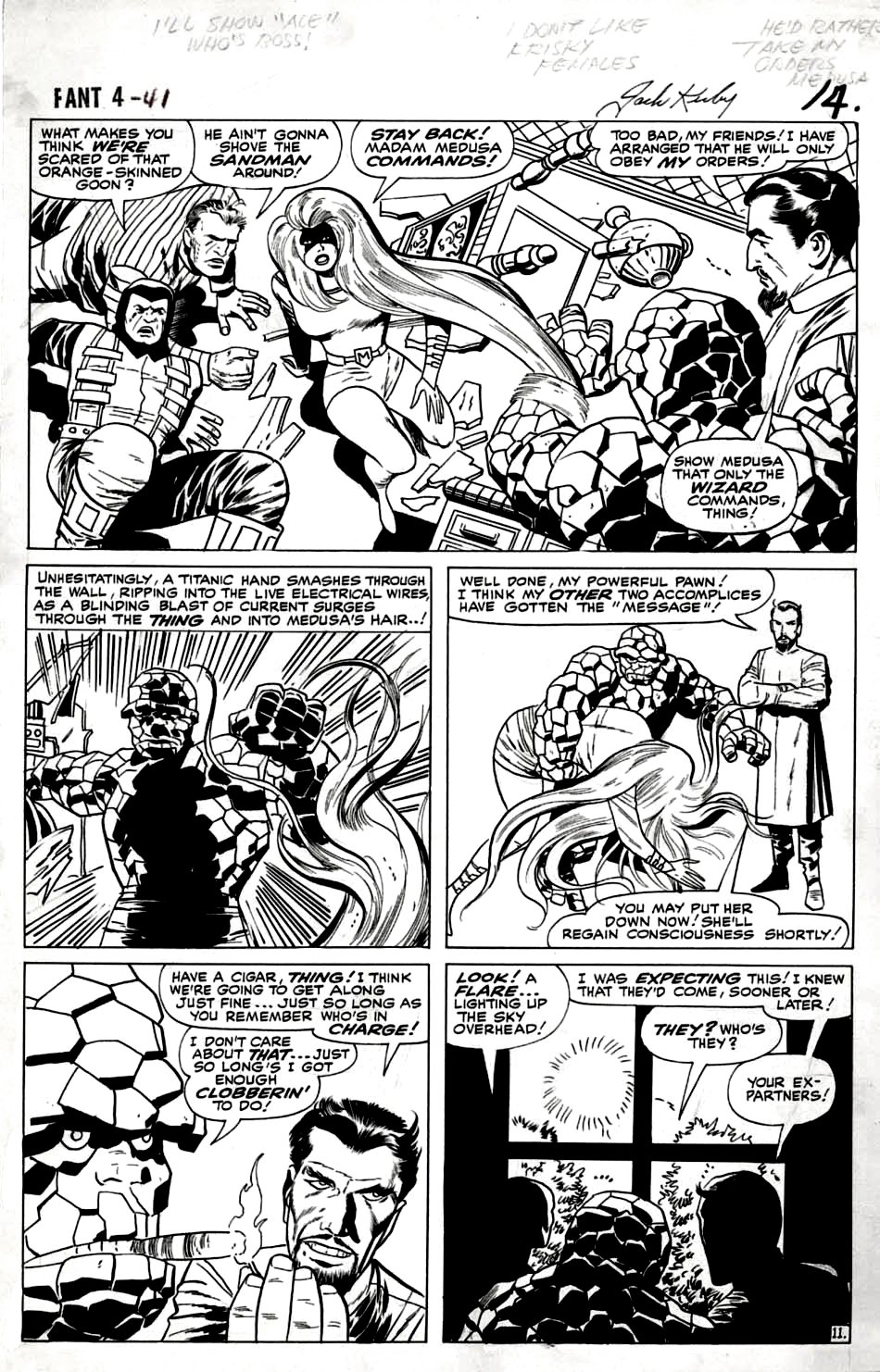 Fantastic Four #41 p 11 (Large Art) 1965