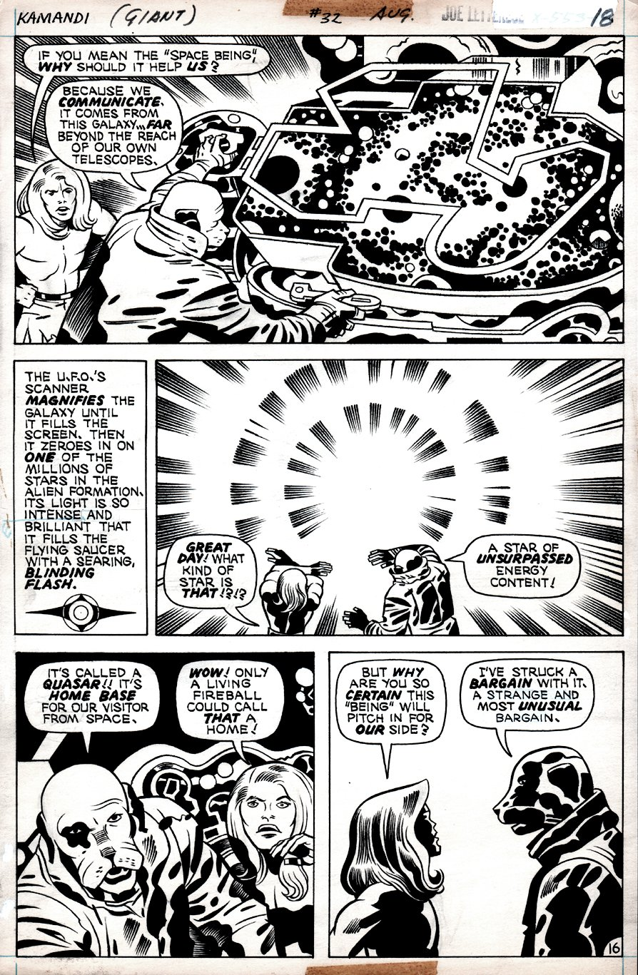Kamandi #32 p 16 (Kamandi In Every Panel, Dr. Canus Discovers Who 'ME' Is!) 1975