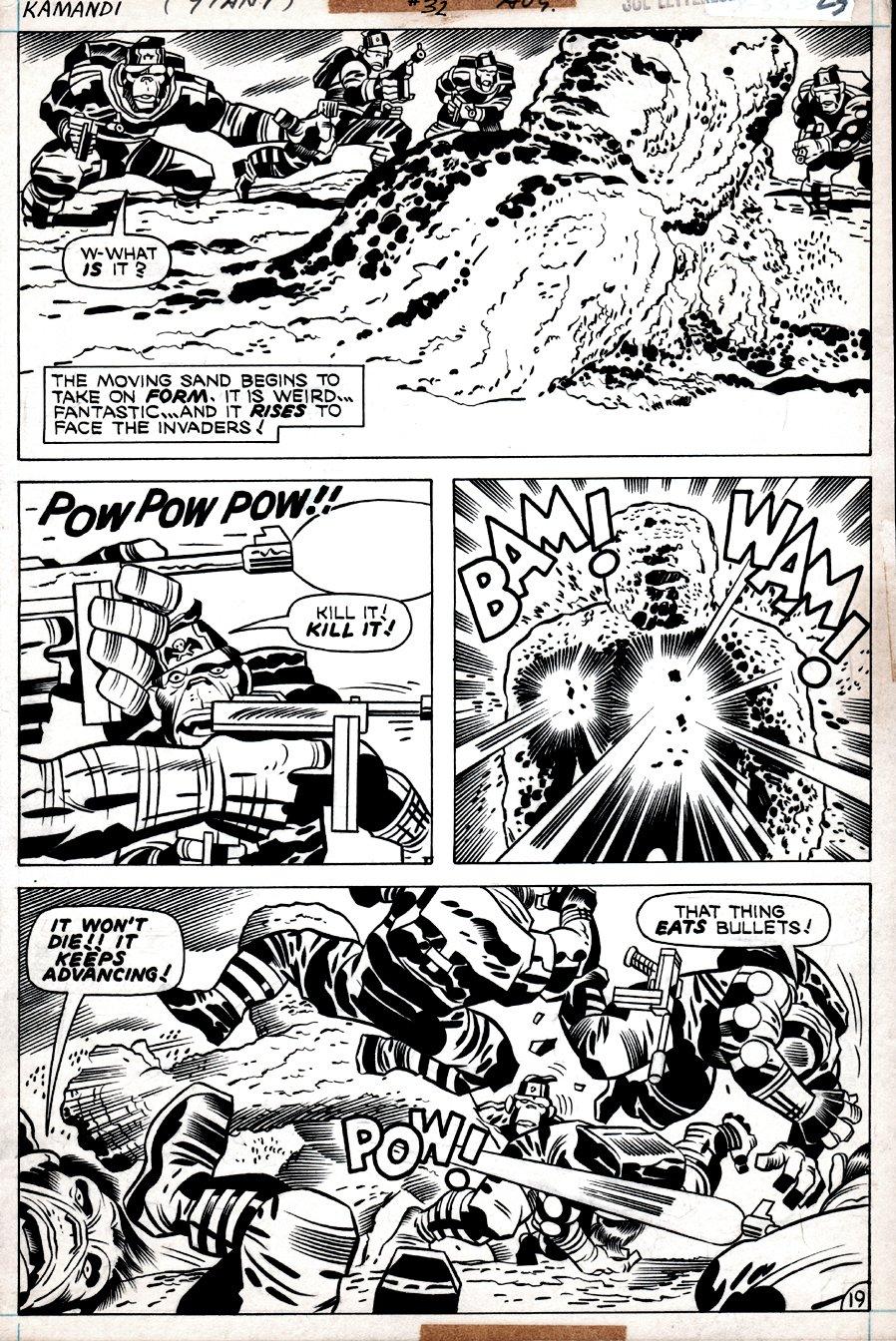 Kamandi #32 p 19  (Gorilla Commandos Battle.....ME!) 1975