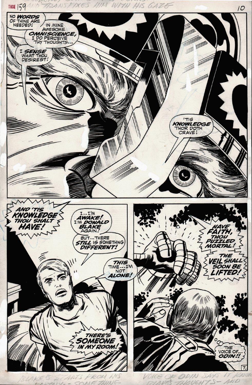 Thor #159 p 7 SPLASH 1968
