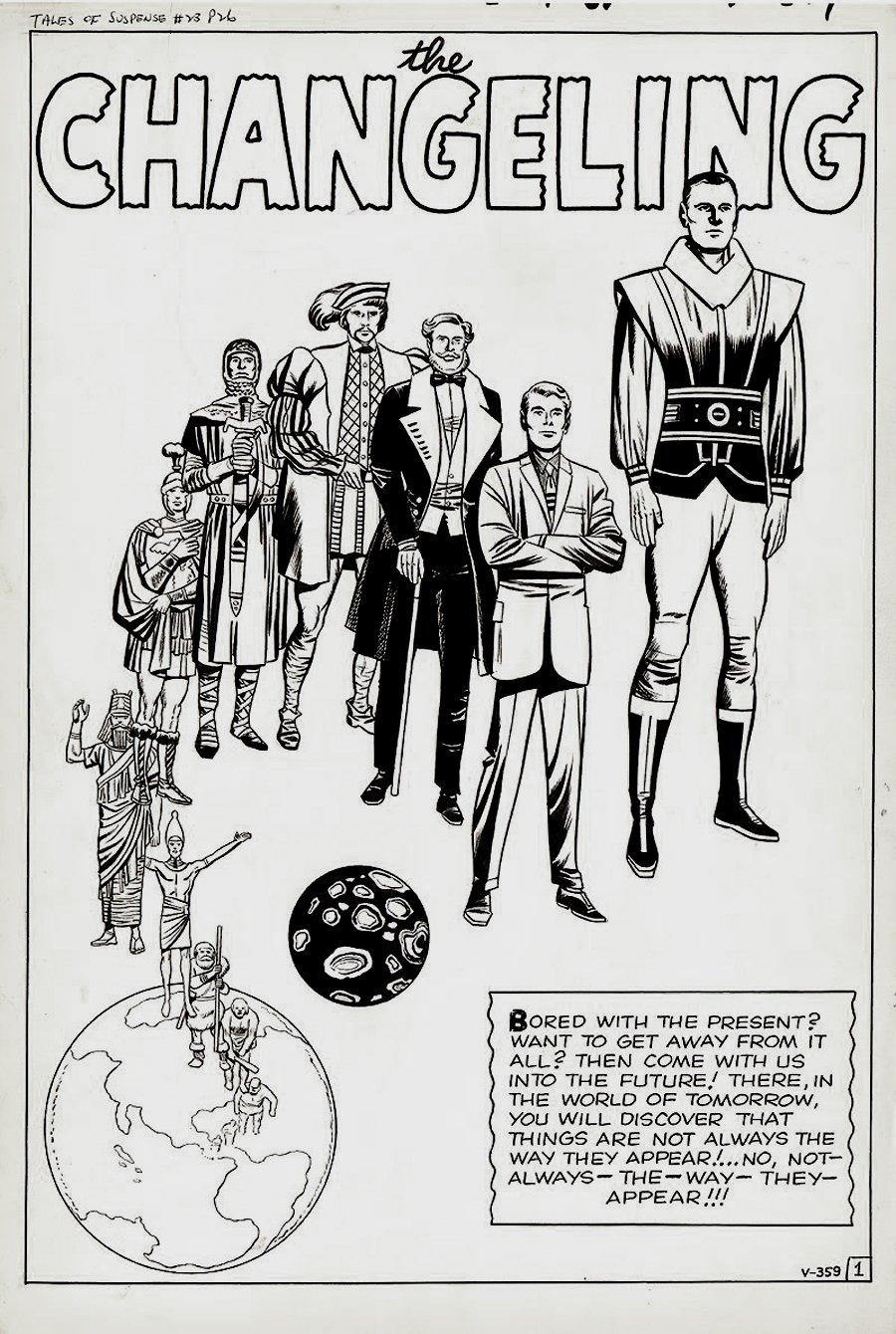 Tales of Suspense #23 p 1 SPLASH (Large Art) 1961