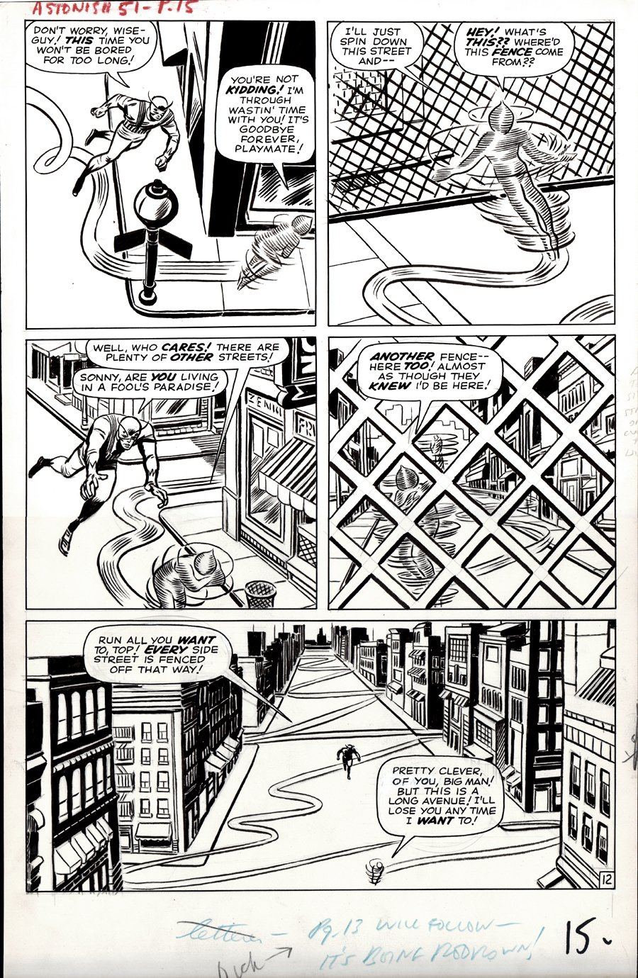 Tales to Astonish #51 p 12 (LARGE ART) 1963