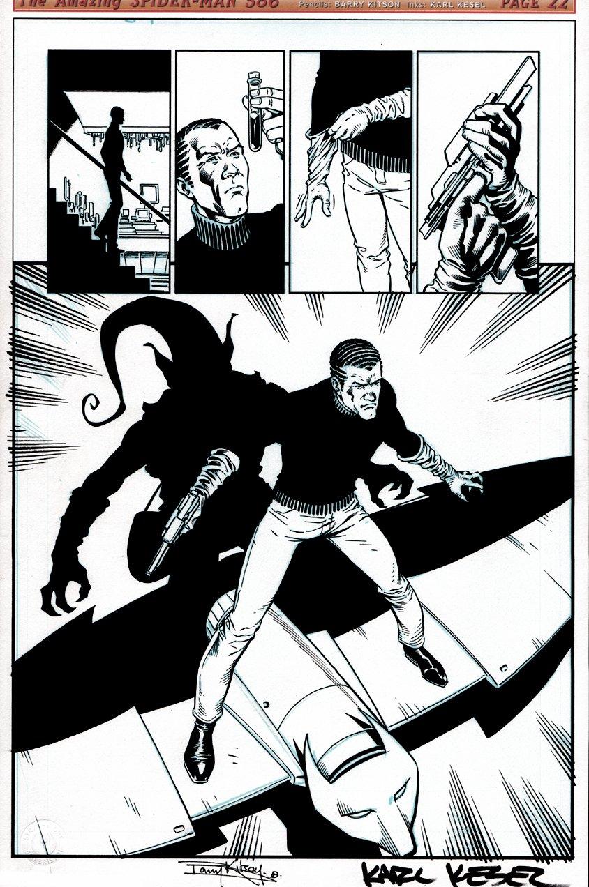 Amazing Spider-Man #586 p 22 SPLASH (2009)