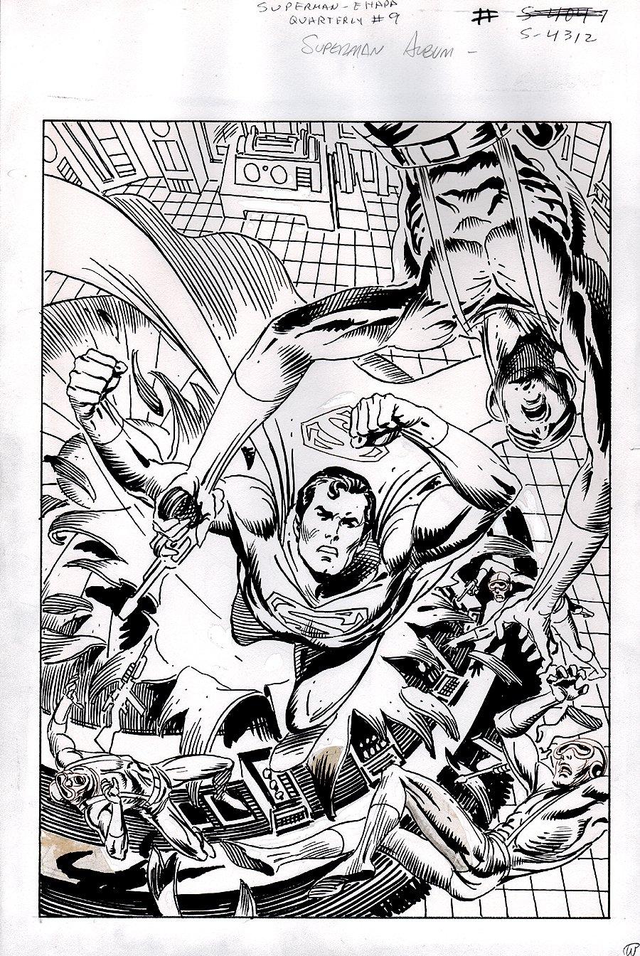 Superman Quarterly #9 Cover (1983)
