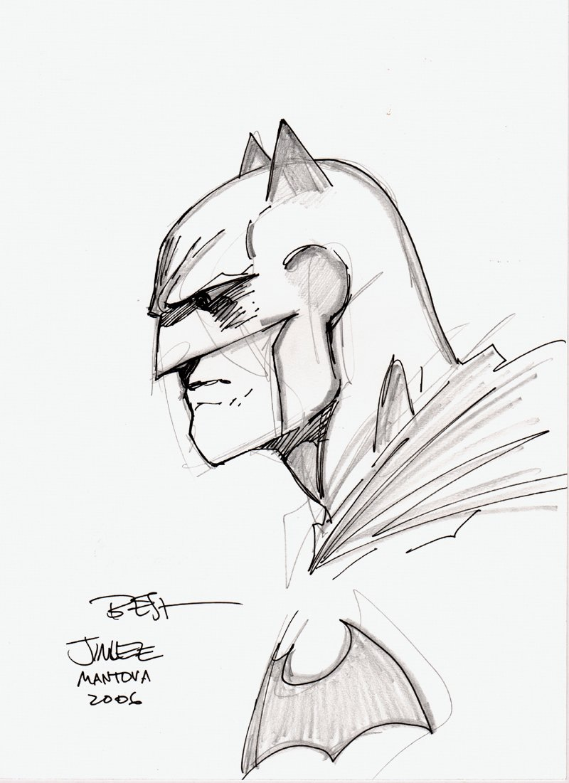 Batman Penciled & Inked Pinup (2006)