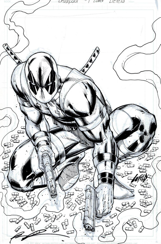 Deadpool #1 Cover (AWESOME DEADPOOL!) 2015