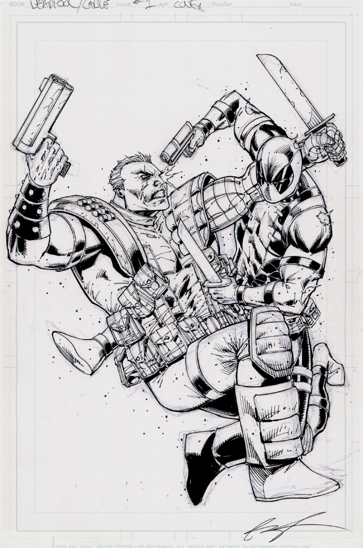 Deadpool & Cable: Split Second #1 Cover (2016)
