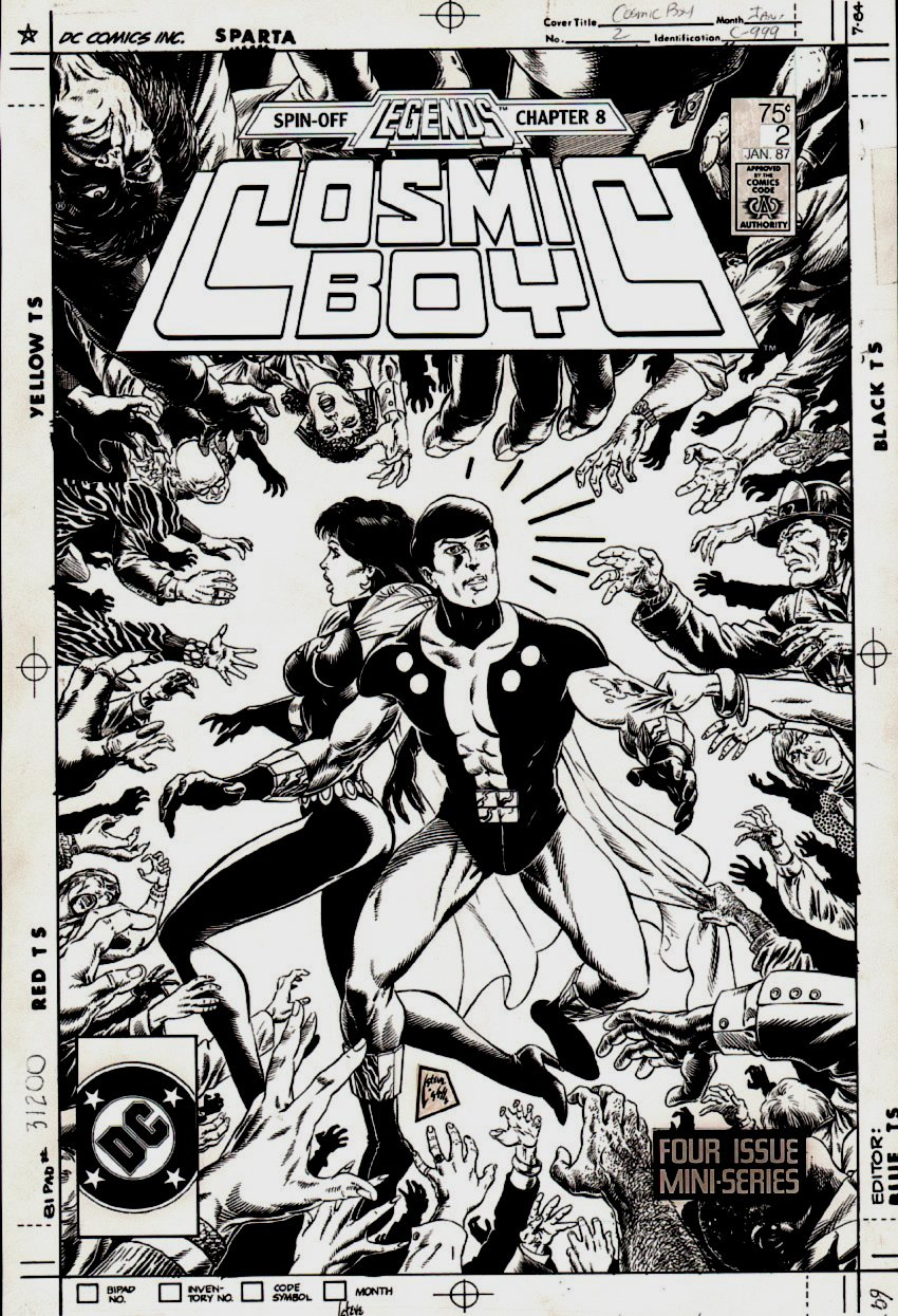 Cosmic Boy #2 Cover (1986)